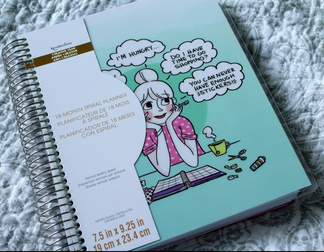 Recollections Planner from Michaels – PLANNERISMA