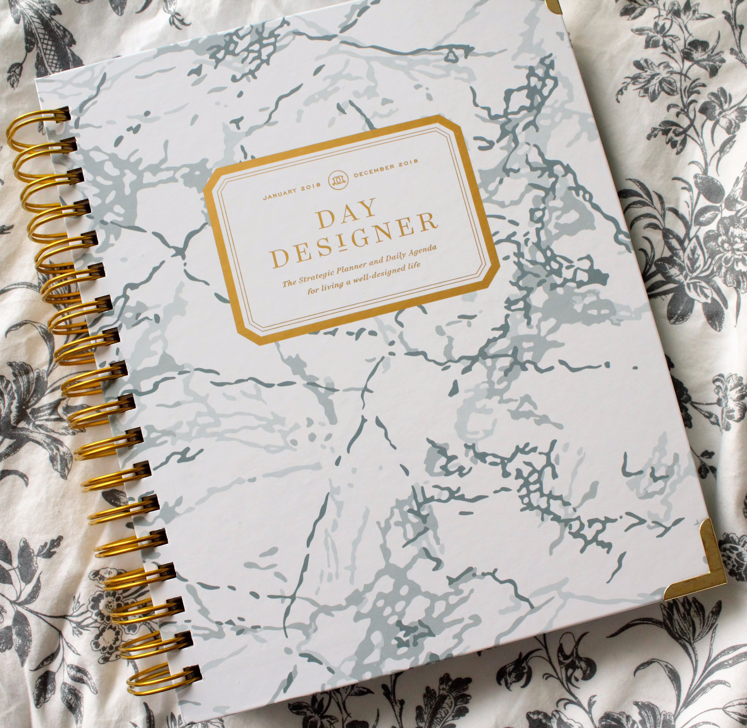 graphic relating to Daydesigner known as The Working day Designer 2018 Flagship Planner PLANNERISMA