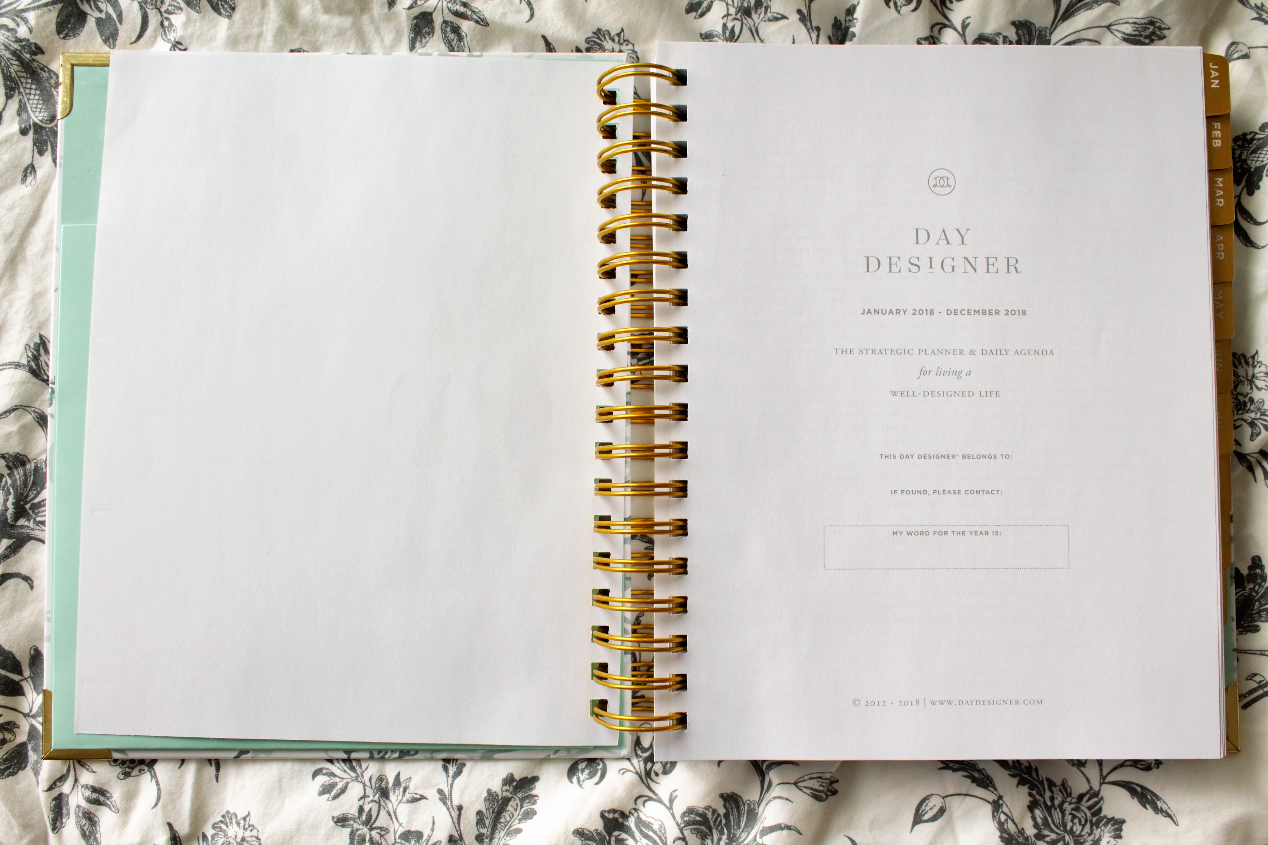 image relating to The Day Designer called The Working day Designer 2018 Flagship Planner PLANNERISMA