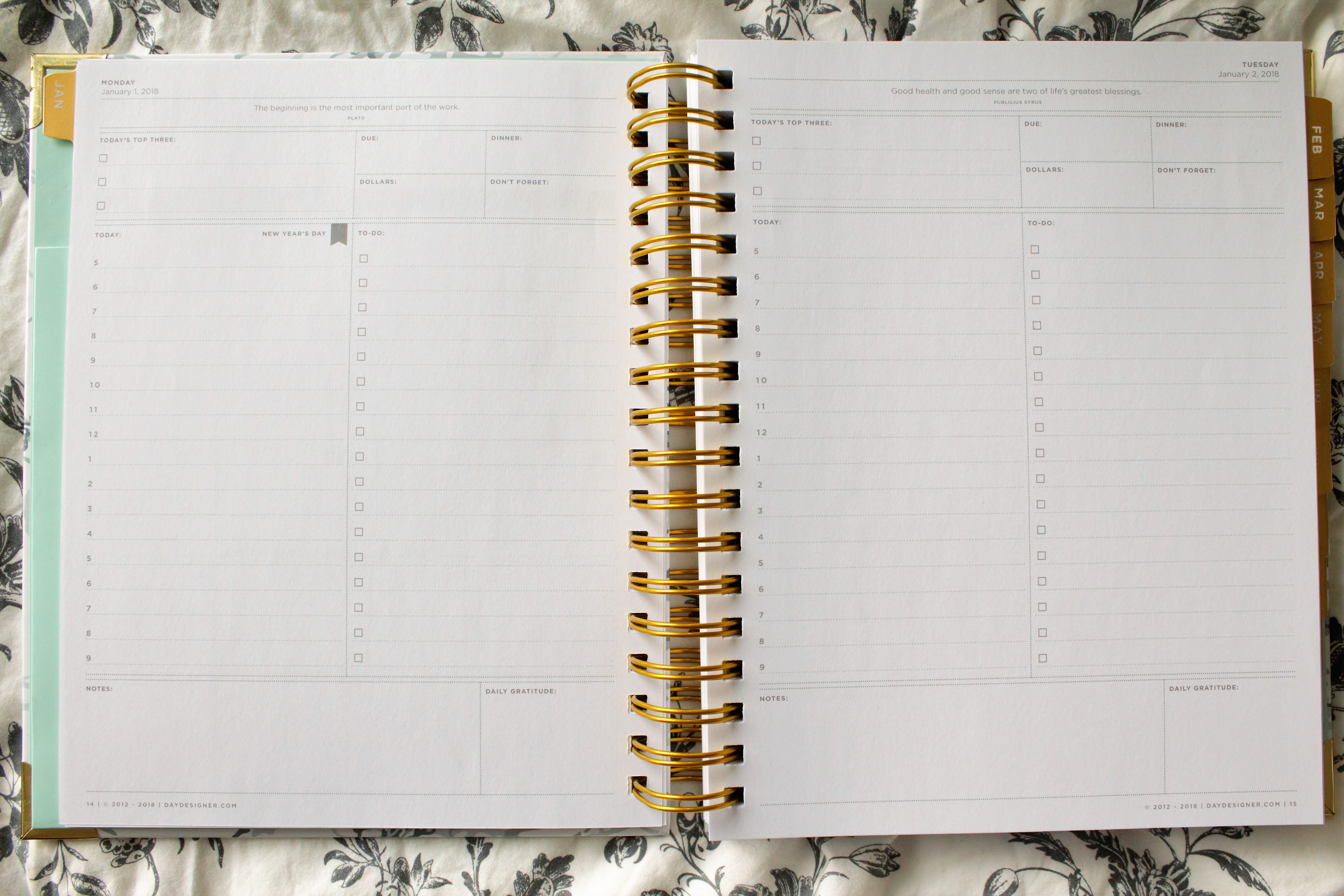 picture regarding Day Designer Whitney English known as The Working day Designer 2018 Flagship Planner PLANNERISMA