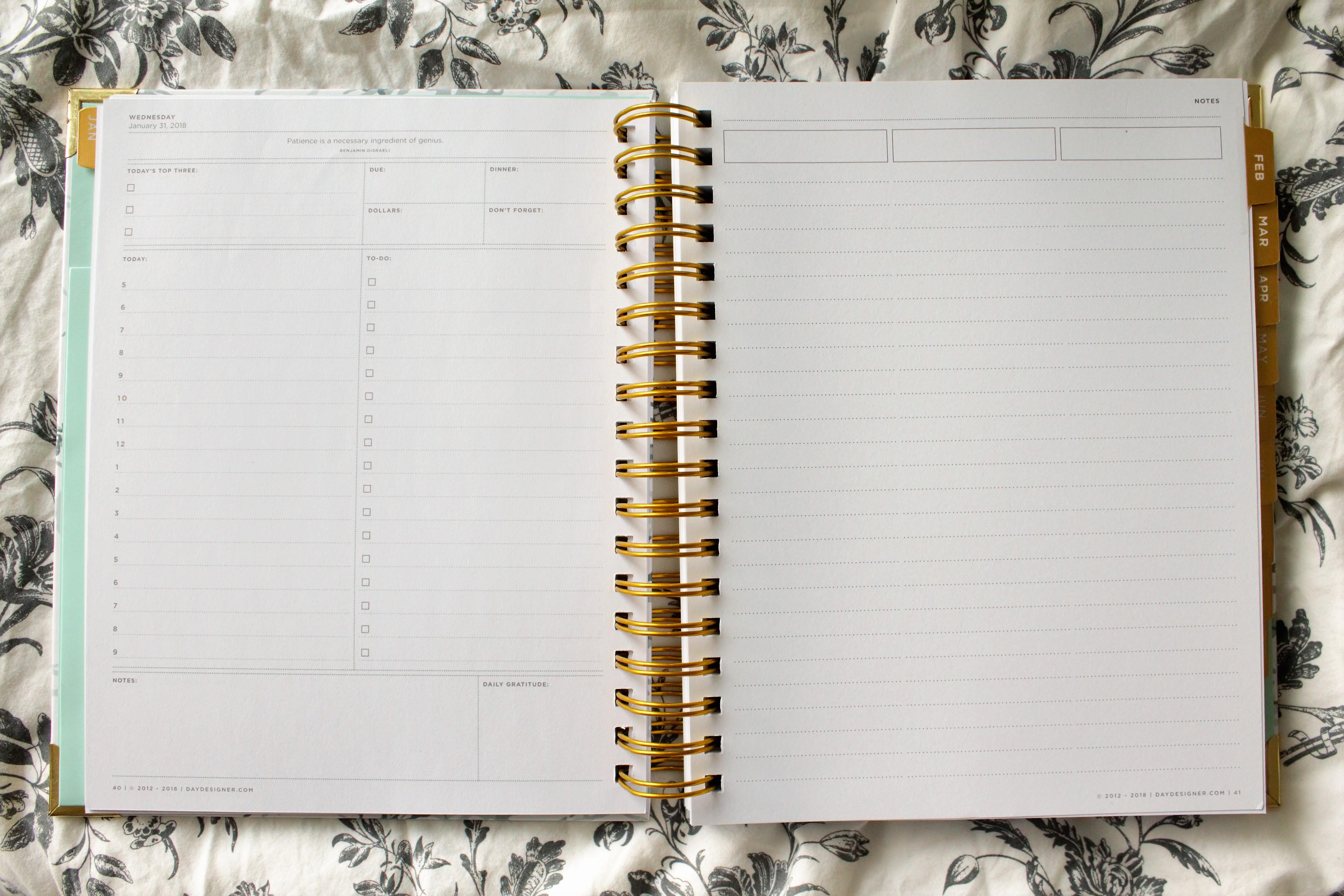 picture regarding The Day Designer titled The Working day Designer 2018 Flagship Planner PLANNERISMA