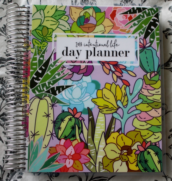 Carrie Elle 2018 Intentional Life Day Planner – PLANNERISMA
